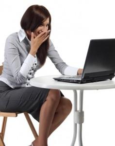 Práce u počítače