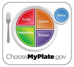 Potravinové schéma MyPlate