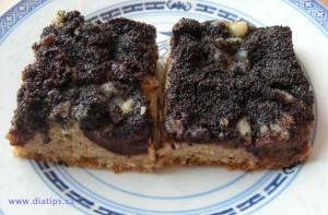 Švestkový koláč s celozrnnou moukou