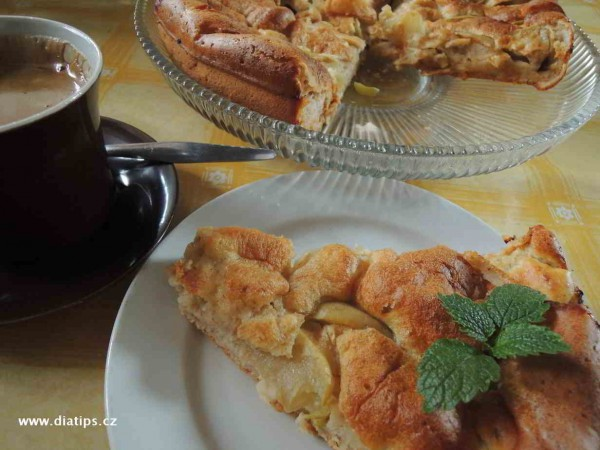 Jablečný koláč podle maminky