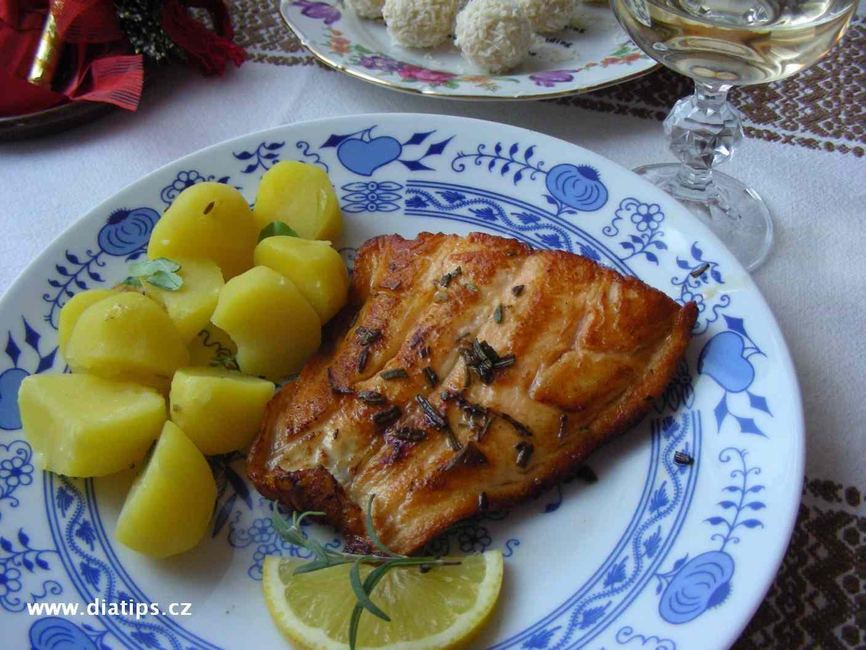 Filety z lososa na rozmarýnu
