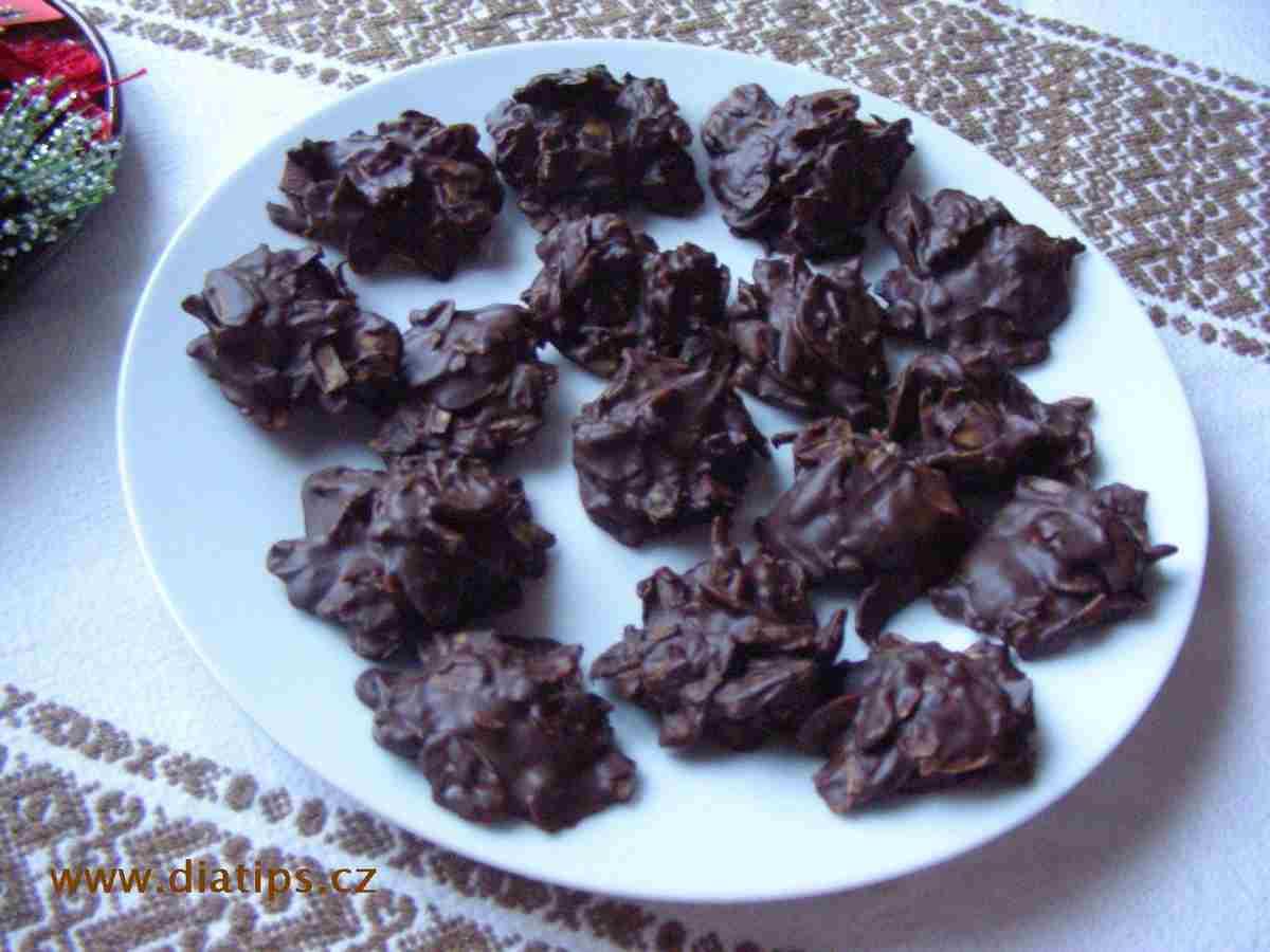 mandlové cukroví bez pečení