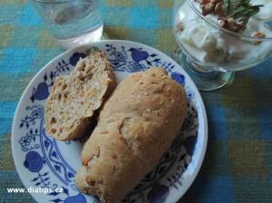 Mrkvové pečivo ke snídani