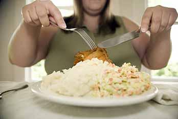 Nejhorší je přejídání, jezení velkého množství příloh
