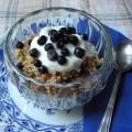 Bulgur s borůvkami ke snídani