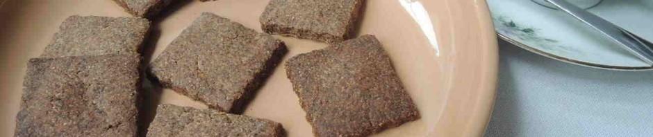 Pohankové sušenky jsou dobréke kávě nebo čaji