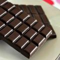 rozbalené tabulky čokolády
