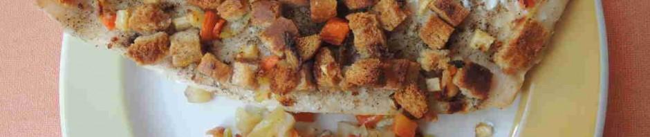 Hotový rybí filet Trondheim naservírovaný na talíři