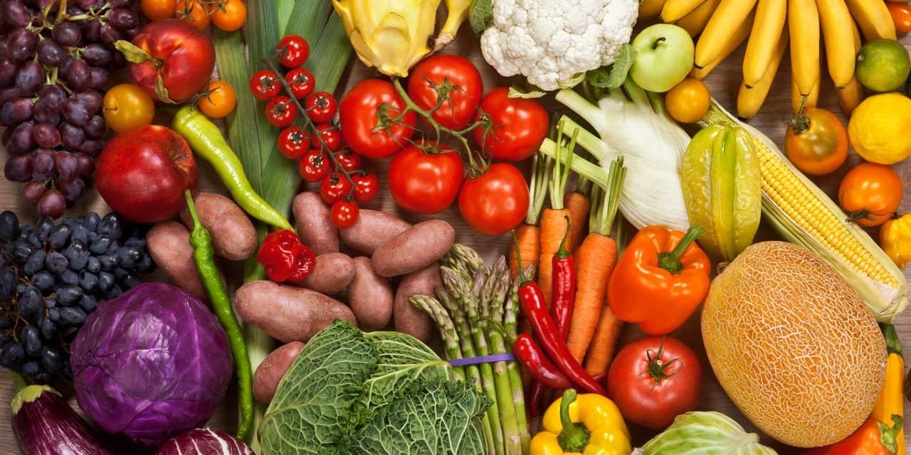 Zdroje antioxidantů jsou ovoce a zelenina