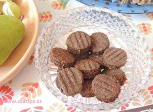 sušenky koka na svátečním stole