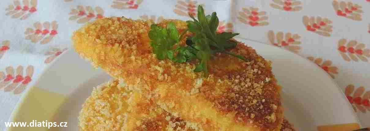 plátky usmaženého celeru