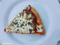 porce pizzy k večeři