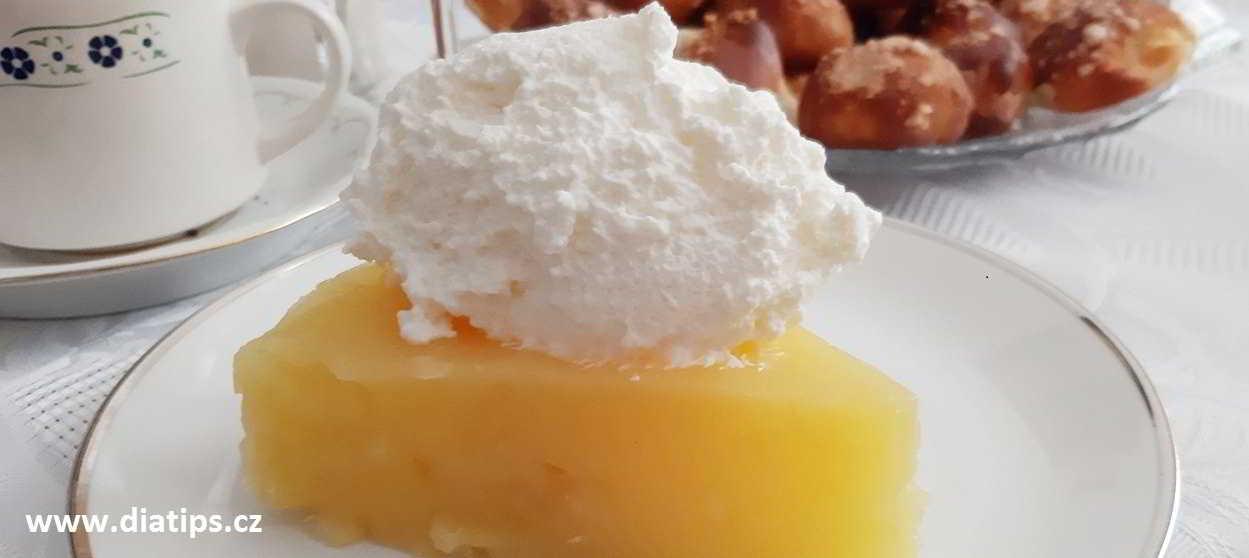 výborný dietní dort z jablek