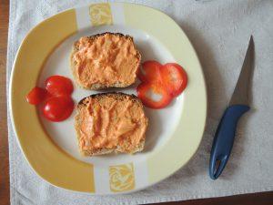 Pomazánka z tofu a papriky